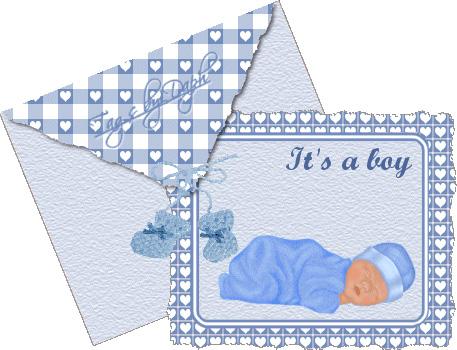 Открытки новорожденным на английском