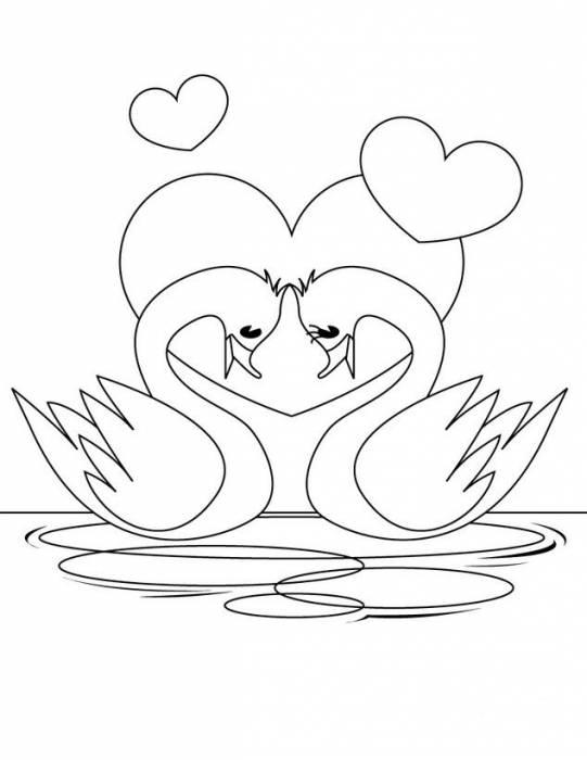 Открытка золотая свадьба для срисовки легкие