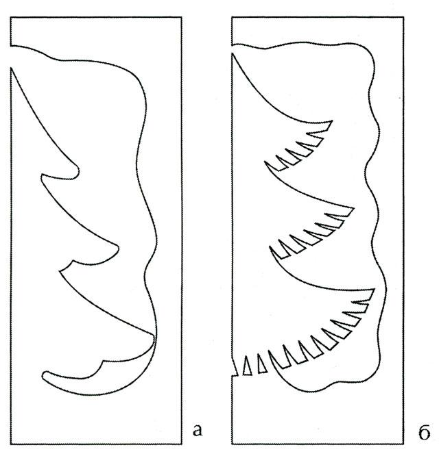 Вырезанные открытки из бумаги шаблоны
