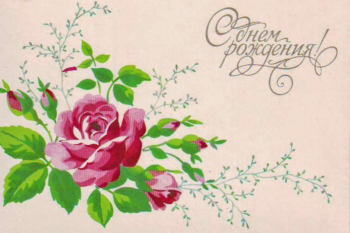 Рассылка новым, нарисовать открытку с цветами на днем рождения