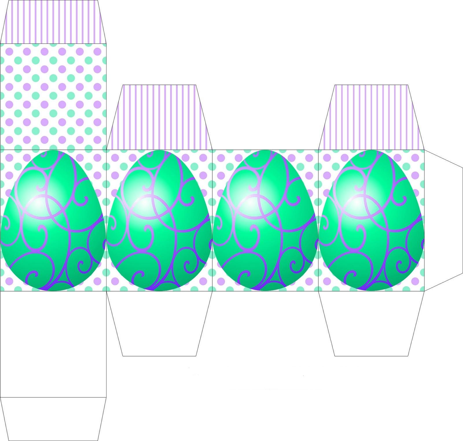 Возможно, для украшения пасхальных коробочек для яиц пригодятся и эти милые зайчики, так они мне понравились