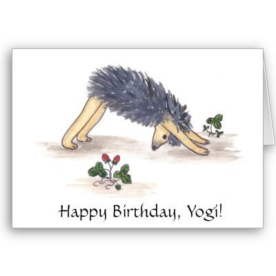С днем рождения картинки мужчине йога, днем рождения