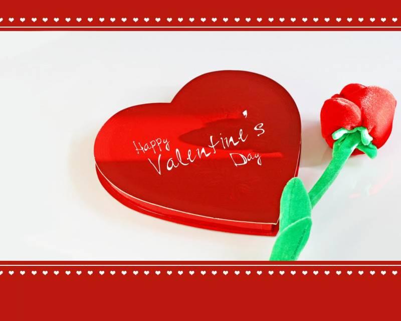 Подписанные открытки с днем валентина