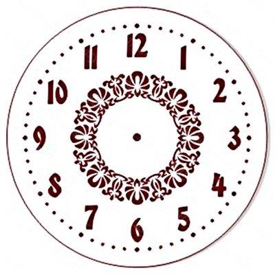 красивые цифры на циферблат часов