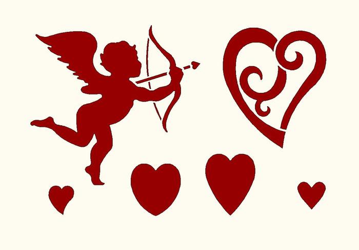 Мишки медом, открытки день валентина шаблоны