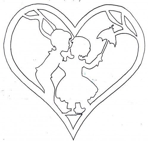 Шаблон на открытки ко дню святого валентина, открытки