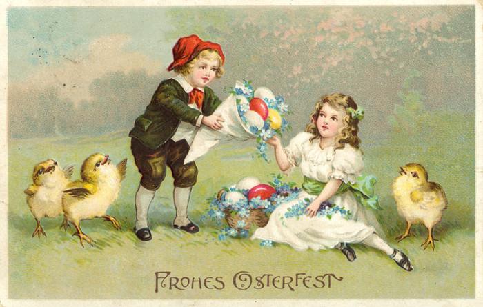 Про, открытка на 8 марта на немецком языке